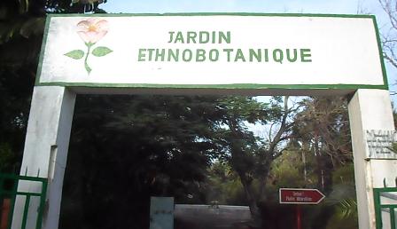 L'entrée du Jardin Ethnobotanique