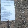 panneau descriptif des plantes