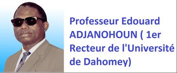 Prof adjanohoun
